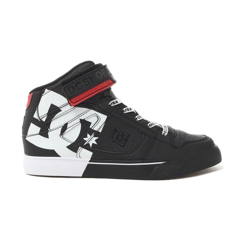 ディーシーシューズ DC SHOES  Ks PURE HIGH-TOP SE EV SN フットウェア スニーカー 靴 シューズ  【DK194009 BWP】