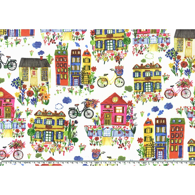 web20170107-01, Colorful town 0.3m-