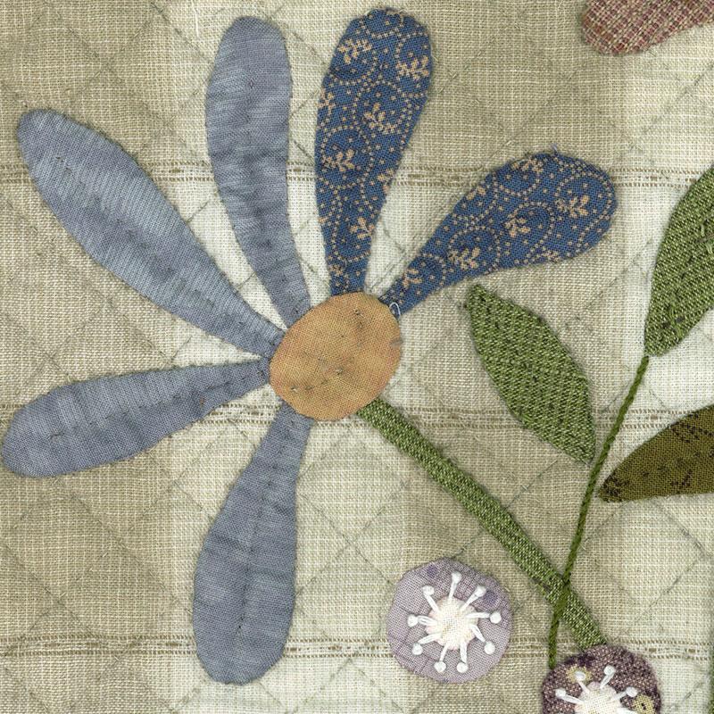 織錦的花和鳥 *