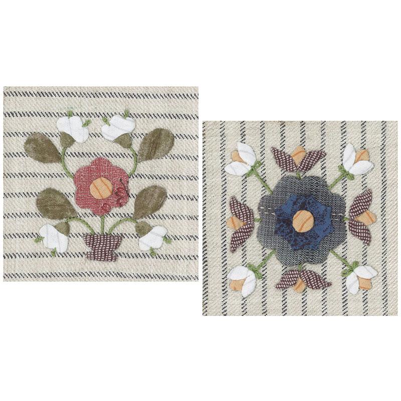 quiltparty | Rakuten Global Market: Kit of 2 Patterns for 6.5cm Wood ...