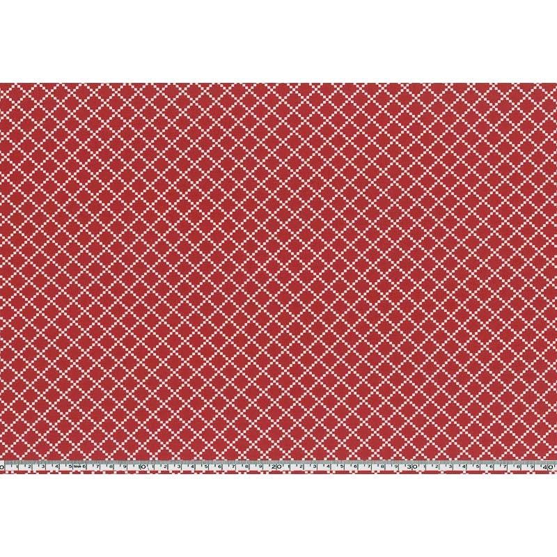 web20180111-04, Irish chain, 0.3m~ (with free instruction) | Fabric for patchwork quilt, Yoko Saito, Valentine