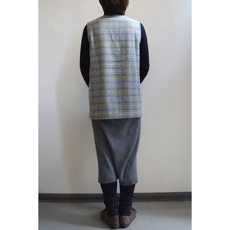 "Check Vest  (without instructions and patterns) in ""Yoko Saito, My Favorite things, Clothes, Fabric bag, Accessories"" 