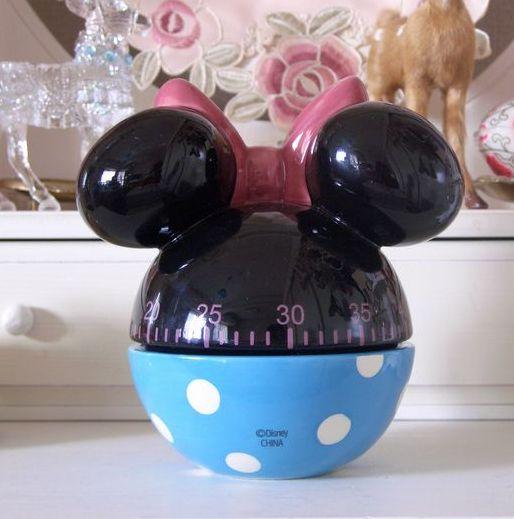 翻譯和產品! 日本 — — 米妮老鼠廚房計時器