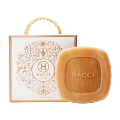 HACCI (ハッチ)はちみつ洗顔石けん ショッピングバック付き 母の日 バースデー ギフト
