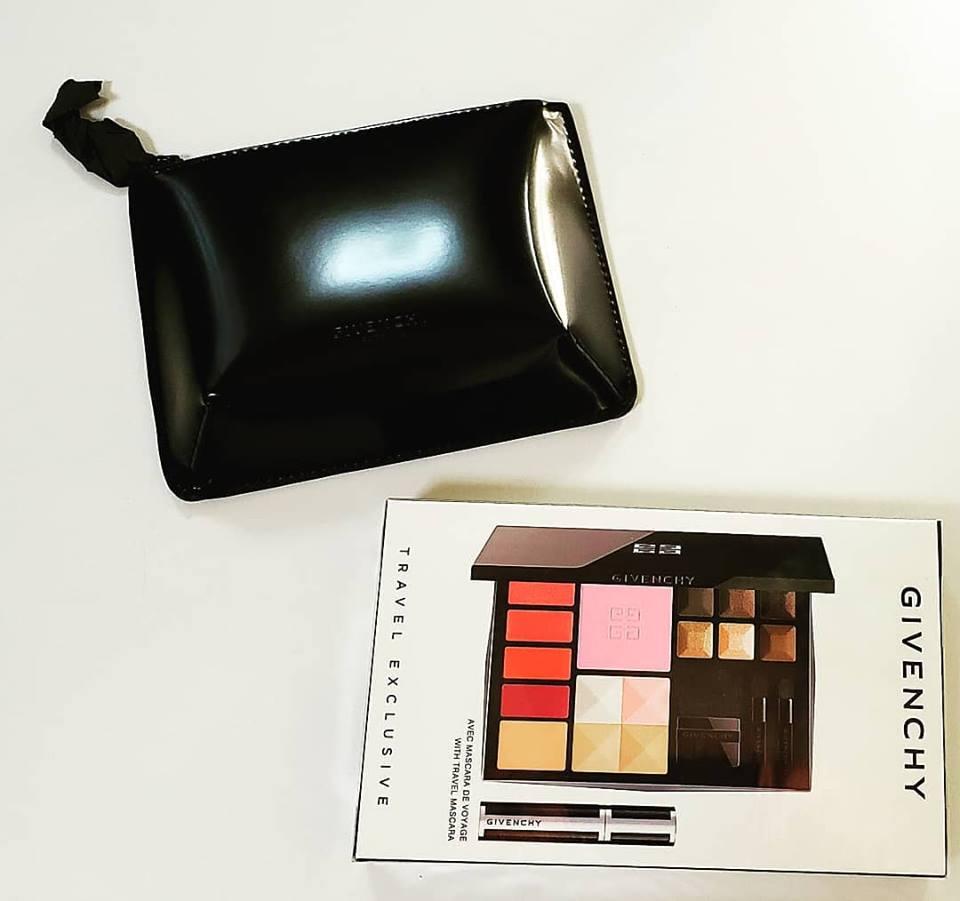 travel exclusive Palette トラベルエクスクルージブパレット Givenchy ジパンシー 代引き不可 コスメポーチ付き