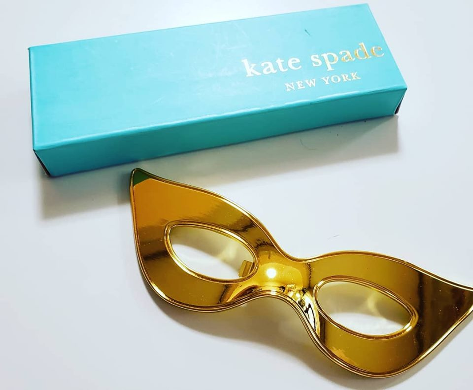 kate spade ケイト スぺイド ボトルオープナー栓抜き マスク型 お祝い バレンタインデー ギフトに LENOX