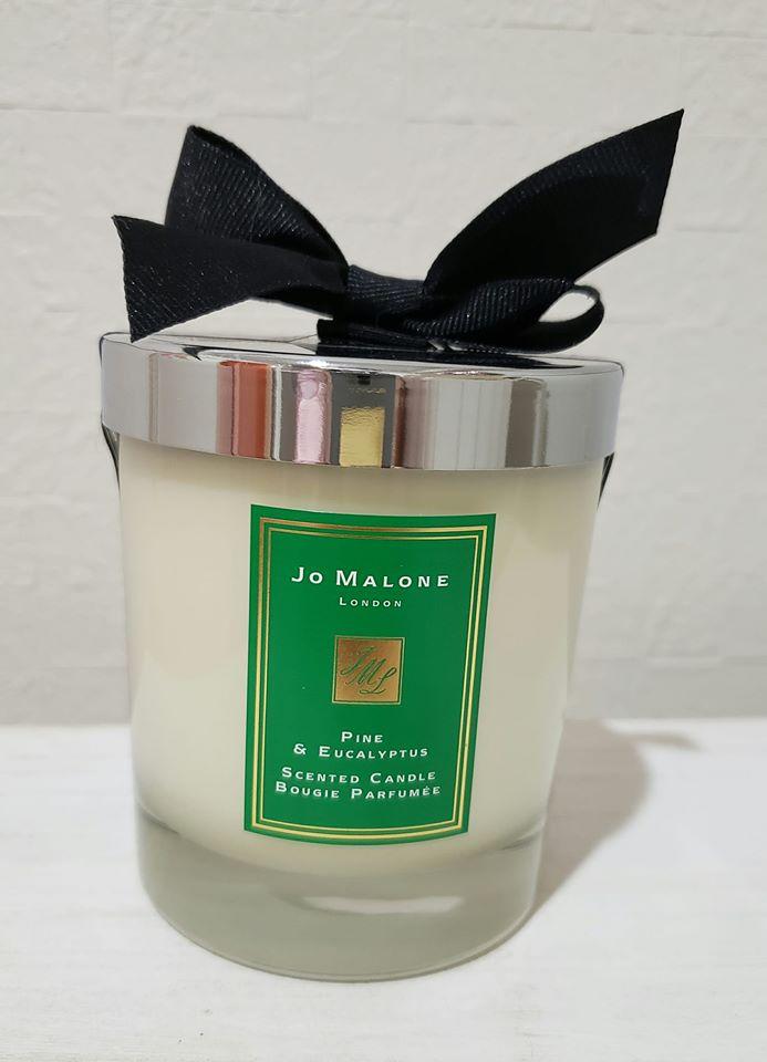 パイン&ユーカリジョーマローン キャンドル jo malone 送別会 お礼 ギフト 母の日 お中元 バースデイ お誕生日