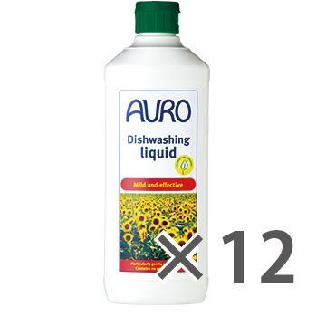 【送料無料】AURO アウロ No.453天然食器用洗剤 500ml 12本セット