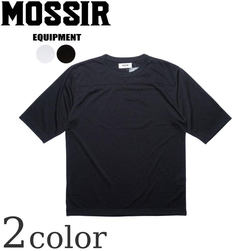 MOSSIR モシール 人気の定番 のフットボールTシャツ Thomas トーマス です ハイテク素材 シーライク を採用した コットンのような表情を持つTシャツになります 日本製 CREEK メンズ 特売 FINE Tシャツ フットボールTシャツ ファインクリーク 高機能 アメカジ