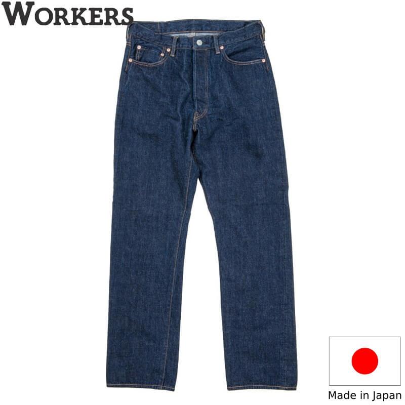 WORKERSオリジナルデニムを使用した スリムテーパードジーンズ Lot.801です 目指すデニムは 20世紀中頃のアメリカのデニム WORKERS ワーカーズLot ストアー Straight ストレートジーンズメンズ 時間指定不可 801 日本製 アメカジ Jeans アメトラ