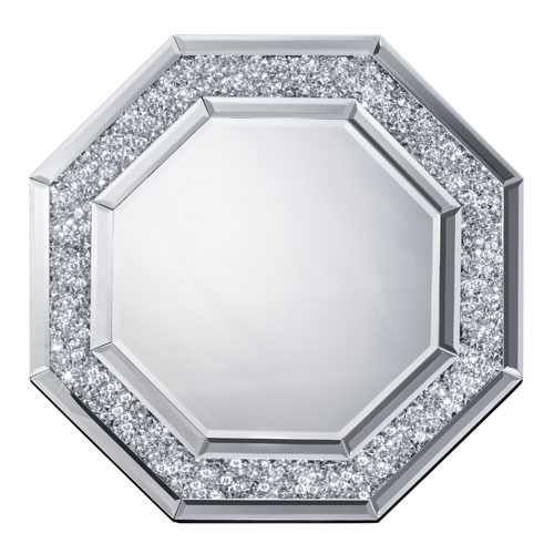 鏡 壁掛け 八角形 ミラー 風水 八角鏡