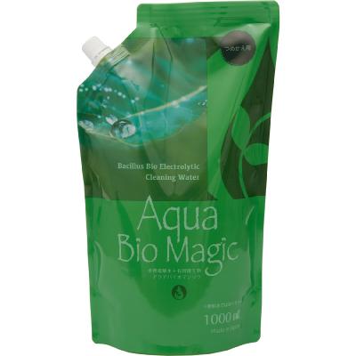 アクアバイオマジック詰め替え用 1000ml Aqua Bio 数量限定アウトレット最安価格 Magic 消臭 重曹電解洗浄液 除菌 洗浄 重曹水 日本産