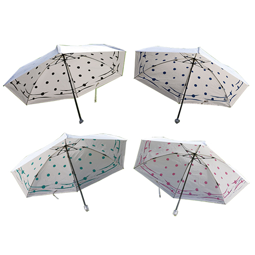 送料無料 UVION プレミアムホワイト55ミニカーボン ミズベ スワロフスキー 日傘 折り畳み傘 UVカット99%以上 軽量160g