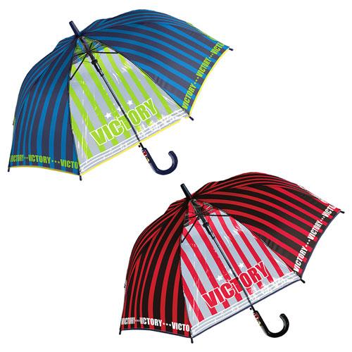 男の子 傘 キッズ 傘 55cm 子供用 雨傘 サッカー クラブチーム