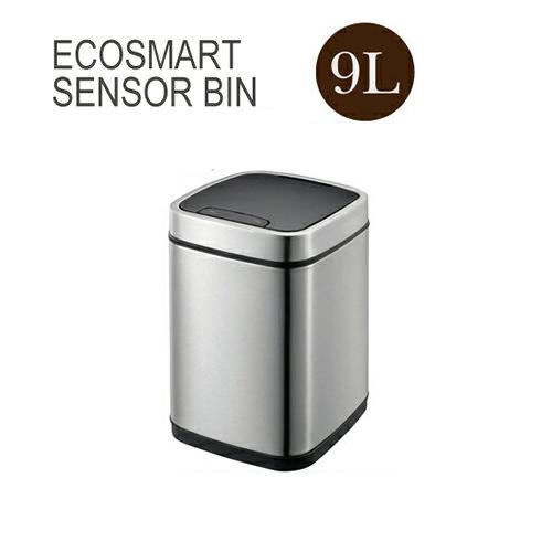 エコスマートセンサービン 9L ECOSMART SENSOR BINEK9288MT-9L センサー搭載 自動開閉 ゴミ箱 ダストボックス