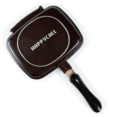HAPPY CALL ホットクッカーグルメパン ミニ 調理器具フライパン パルチパン 両面焼き 韓国