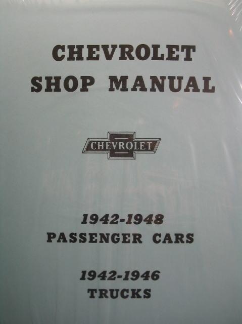 CHEVROLET SHOP MANUAL 1942-1948 シボレー ショップ マニュアル