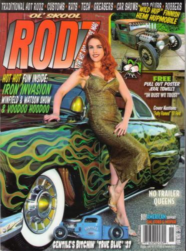 OL'SKOOL RODZ アメ車 2017 高品質 NOV #84 爆安 The US 洋書 Rod Magazine Kulture Hot