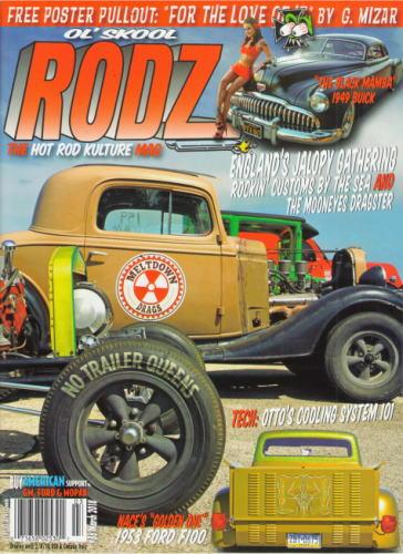 OL'SKOOL RODZ アメ車 2018 MAR #86 The ブランド品 Kulture US Magazine Rod 洋書 Hot 新生活