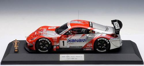 1/18 オートアート AUTOart Xanavi Nismo Z #1 2004 JGTC Team & Drivers Champion Special Edition 本山哲 ザナビィ ニスモ ミニカー