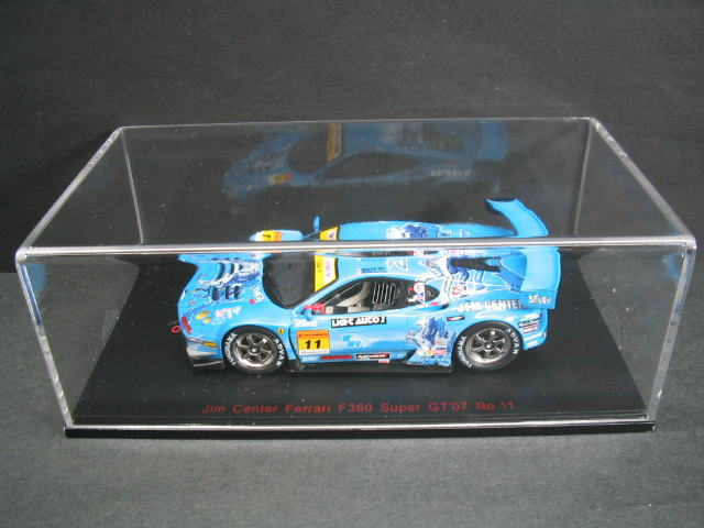 1/43 エブロ EBBRO Jim Center Ferrari F360 Super GT 2007 No. 11 フェラーリ ミニカー