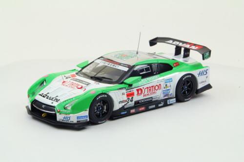 1/43 エブロ EBBRO Super GT500 2012 No.24 D'Station ADVAN GT-R Low Down Force Dステーション アドバン ロー ダウン フォース ミニカー