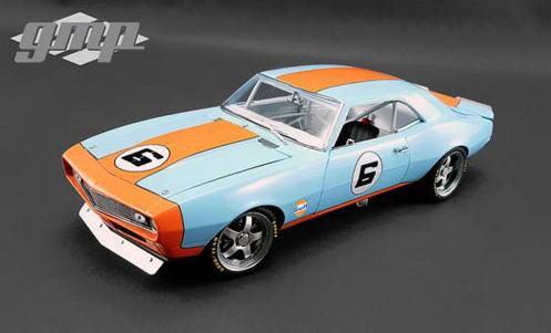 1/18 GMP 1968 Street Fighter Chevrolet Camaro Gulf シボレー カマロ ストリート ファイターミニカー アメ車