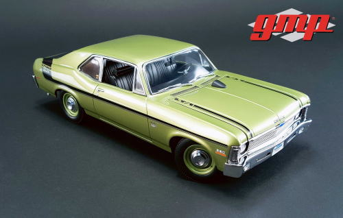 1/18 GMP 1970 Yenko Chevy Nova イエンコ シェビー ノバ ミニカー アメ車