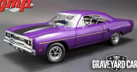 1/18 GMP GRAVEYARD CARZ 1970 Plymouth Road Runner プリマス ロードランナー ミニカー アメ車