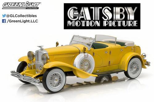 1/18 グリーンライト GREENLIGHT The Great Gatsby Motion Picture Duesenberg II SJ 華麗なるギャツビー デューセンバーグ ミニカー アメ車