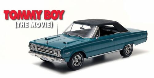 1/18 グリーンライト GREENLIGHT TOMMY BOY The Movie 1967 Plymouth Belvedere GTX プリムス ベルヴェデア ミニカー アメ車