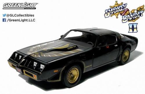 1/18 グリーンライト GREENLIGHT Smokey and The Bandit 2 1980 PONTIAC TRANS AM スモーキー アンド バンディット 2 ポンティアック トランザム ミニカー アメ車