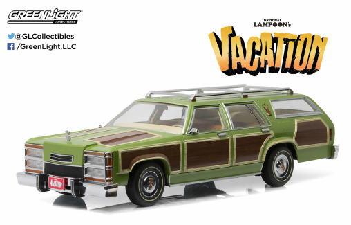 1/18 グリーンライト GREENLIGHT VACATION Wagon Queen Family Truckster ワゴン ミニカー アメ車