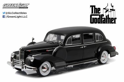 1/18 グリーンライト GREENLIGHT The Godfather 1941 Packard Super Eight One-Eighty ゴッドファーザー パッカード スーパーエイト ミニカー アメ車
