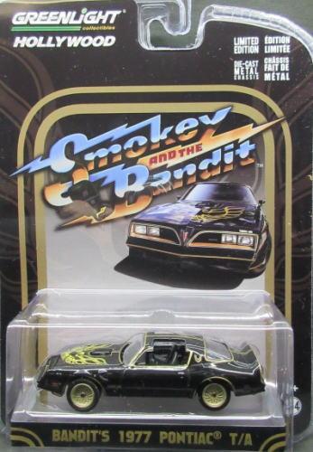 Smokey and The 全商品オープニング価格 休日 Bandit トランザム アメ車 ミニカー 1 64 グリーンライト A ポンティアック 1977 T Pontiac バンテット GREENLIGHT Bandit's スモーキー