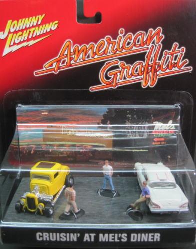 1/64 ジョニー ライトニング JOHNNYLIGHTNING American Graffiti CRUISIN' AT MEL'S DINER アメリカン グラフィティ メルズ ダイナー ミニカー アメ車