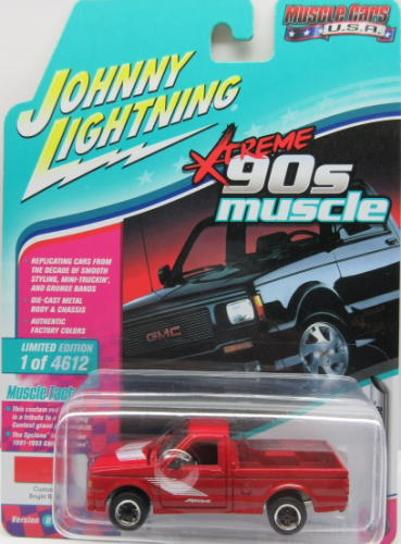 GMC サイクロン 1 64 ミニカー アメ車 ジョニーライトニング オーバーのアイテム取扱☆ JOHNNY 2018 LIGHTNING CARS 豊富な品 1991 Syclone MUSCLE USA