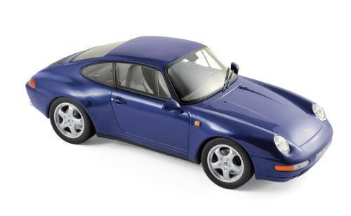 1/18 ノレブ Norev Porsche 911 Carrera 1993 Blue metallic ポルシェ カレラ ミニカー