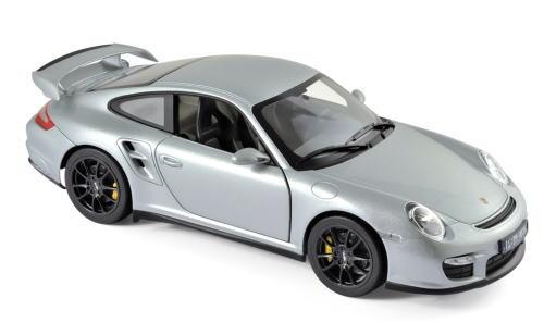 1/18 ノレブ Norev Porsche 911 GT2 2007 Silver ポルシェ ミニカー