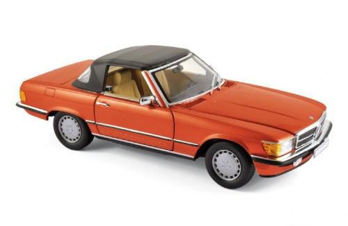 1/18 ノレブ Norev Mercedes-Benz 300SL 1986 Red metallic メルセデス ベンツ ミニカー