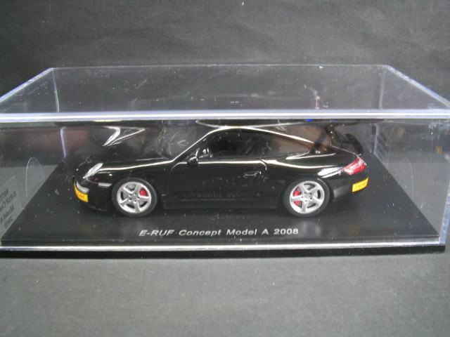 公式ショップ ルーフ コンセプト モデル A 1 43 ミニカー Concept スパーク E-RUF SPARK 2008 ファッション通販 Model