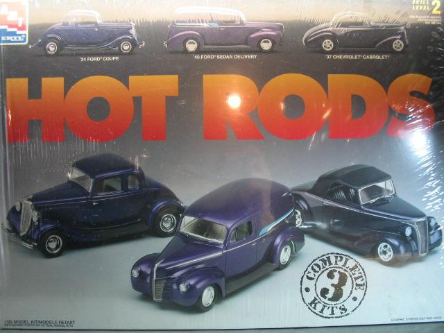 AMT HOT RODS プラモデル 3台セット ホットロッド