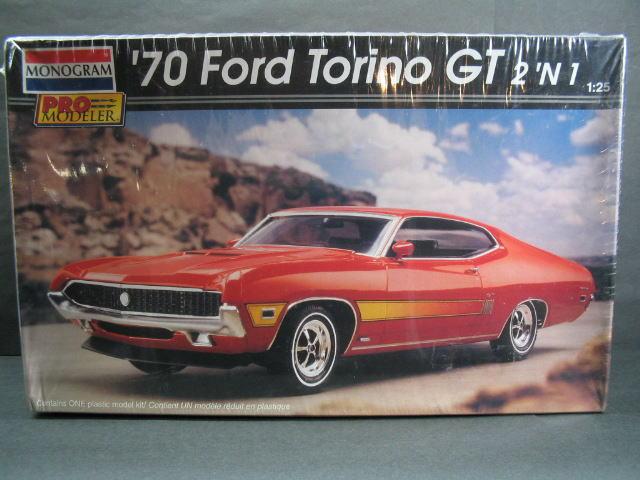 1/25 モノグラム MONOGRAM '70 Ford Torino GT 2'N1 プラスチックモデルキット フォード トリノ