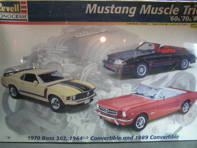 Revell レベル Mustang Muscle Trio '60s '70s '80s マスタング