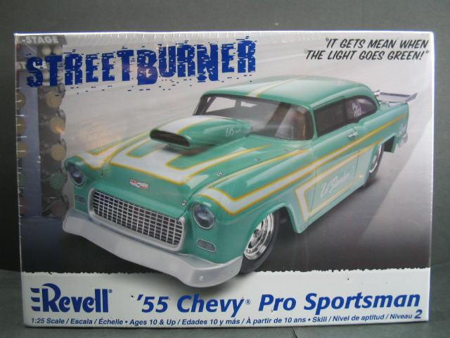 アメ車 中古 プラモデル シェビー スポーツマン 1955 1 25scale シボレー レベル '55 Revell Pro Sportsman 超激安特価 Chevy
