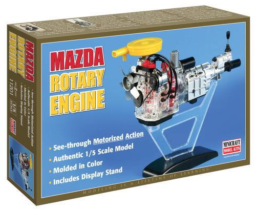 1/5scale MINICRAFT MODEL KITS プラスチックプラモデルキット Mazda Rotary Engine マツダ ロータリー エンジン