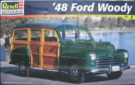 1/25scale Revell レベル '48 Ford Woody フォード ウッディー