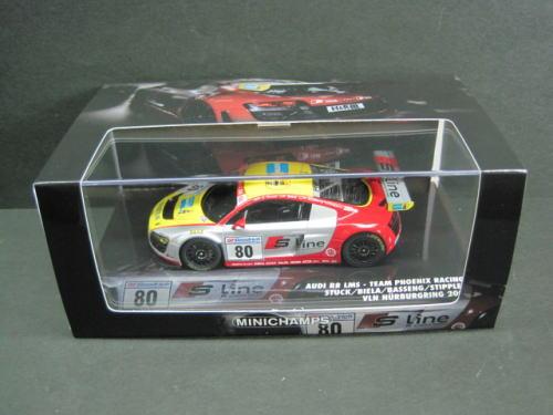 1/43 ミニチャンプス MINICHAMPS Audi R8 LMS Team Phoenix Racing Stuck/Biela/Basseng/Stippler VLN Nurburgring 2009 アウディ ニュル ミニカー