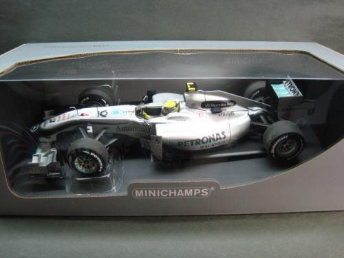 1/18 ミニチャンプス MINICHAMPS Mercedes GP F1 Team MGP W01 N.Rosberg 2010 メルセデス ロズベルグ ミニカー