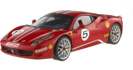 1/18 ホットウィール Hot Wheels Ferrari 458 ITALIA Challenge フェラーリ イタリア チャレンジ ミニカー